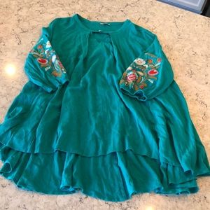 Beautiful turquoise\green dress or tunic